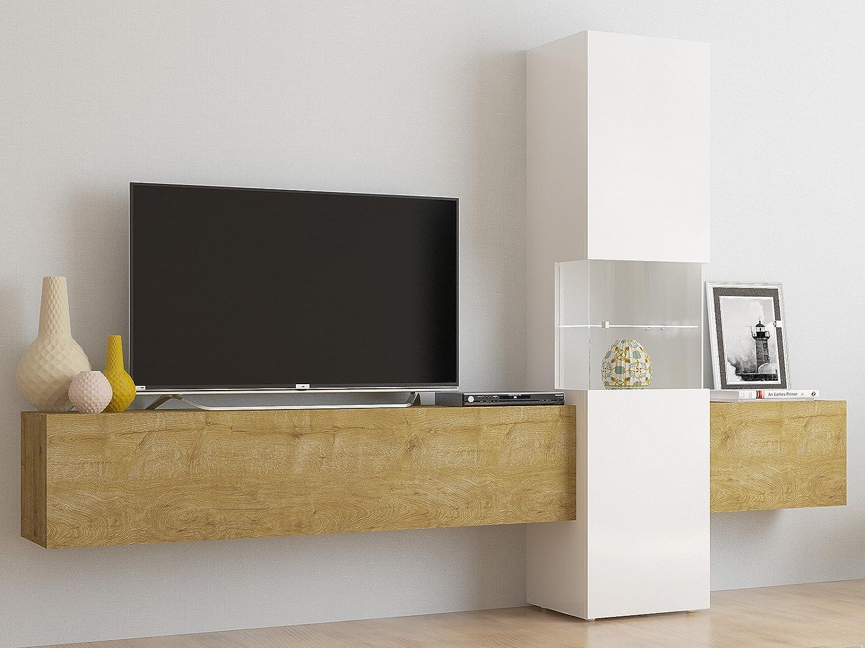 Schrank TV Mediawand Fernsehschrank Wohnzimmerschrank ...