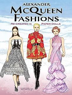 Alexander McQueen Paper Dolls