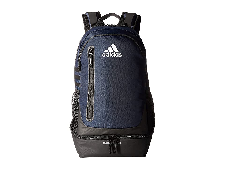 adidas Pivot Team Backpack (Collegiate Navy/Grey/Neo White) Backpack Bags