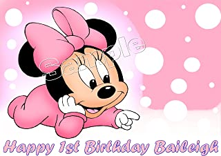 Baby Minnie Mouse Edible Image Frosting Sheet/cake Topper