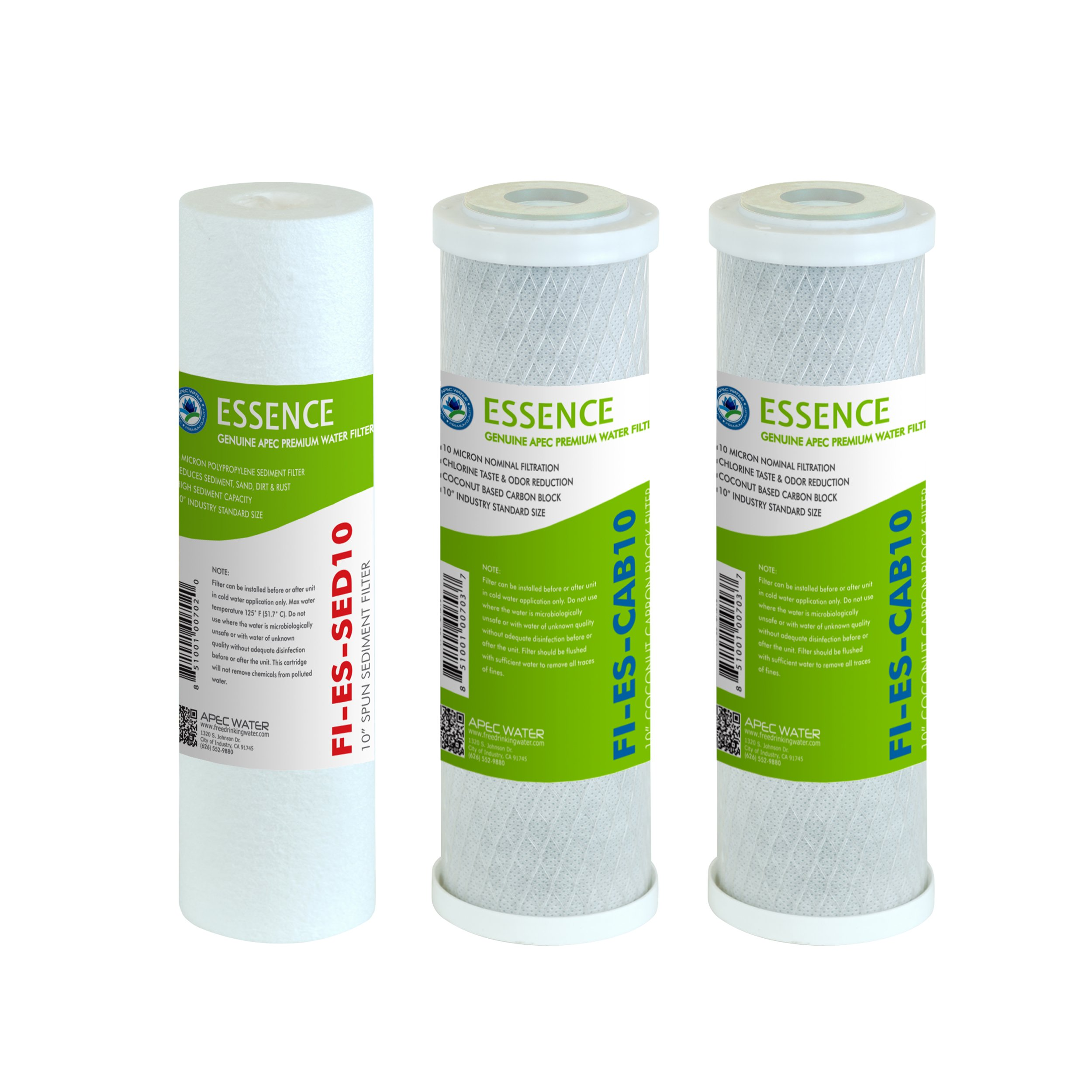 APEC Water Systems FILTER SET ES Replacement