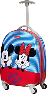 Samsonite Disney Ultimate 2.0 Spinner XS Valigia per Bambini, 46.5 cm, 20.5 L, Multicolore (Minnie/Mickey Stripes)