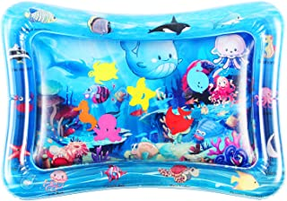 Tummy Time Baby Water Play Mat Toys for 3 6 9 Months, The...