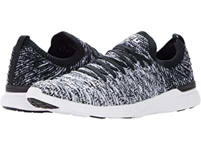 Athletic Propulsion Labs (APL) Techloom Wave (Black/White/Ombre) Women