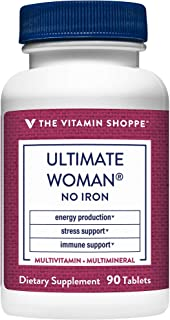 Ultimate Woman No Iron Multivitamin (90 Tablets) by The Vitamin Shoppe