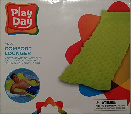 Play Day Floating Adult Comfort Lounger - Lime by Play Day