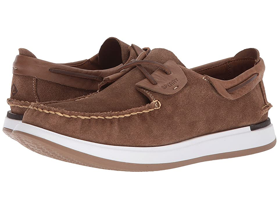 Sperry Caspian Suede (Tan) Men