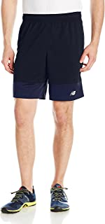 New Balance Men's 9 Colorblock Heathered Shorts