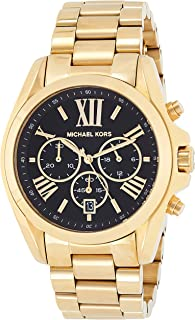 Michael Kors Mid Size Bradshaw Watch for Women - Analog Stainless Steel Band - MK5739