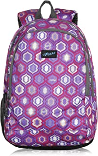 F Gear Castle Dome PRP Grey 22 Ltrs Casual Backpack (3357)