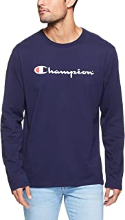 Champion Men's Script Long Sleeve Tee