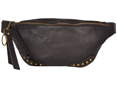 FRYE AND CO. Odessa Belt Bag (Black) Cross Body Handbags