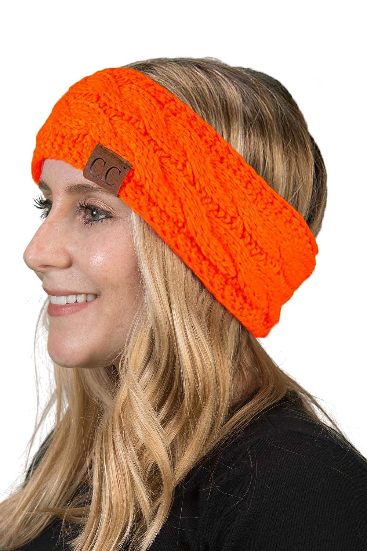 Solid Headwrap - Neon Orange