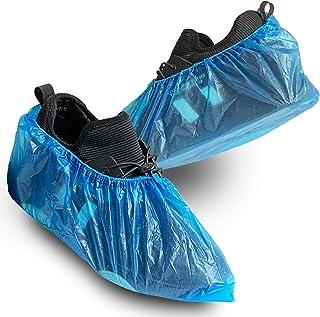 CENINGDA Fundas de zapatos desechables, paquete de 100 (50 pares) antideslizantes, impermeables, duraderas para proteger e...