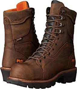 "Timberland PRO 9"" Composite Safety Toe Waterproof Insulated Logger"