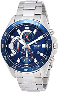 Casio Casual Watch For Men Analog Stainless Steel - EFV-550D-2AVUDF