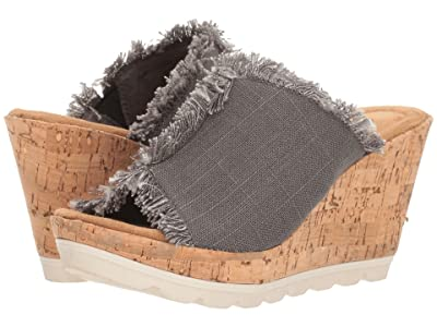 Minnetonka York (Grey Linen) Women