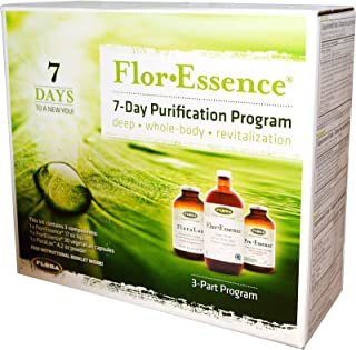 Flor Essence 7 Day Complete Body Detox & Cleanse Kit - Organic & Non GMO