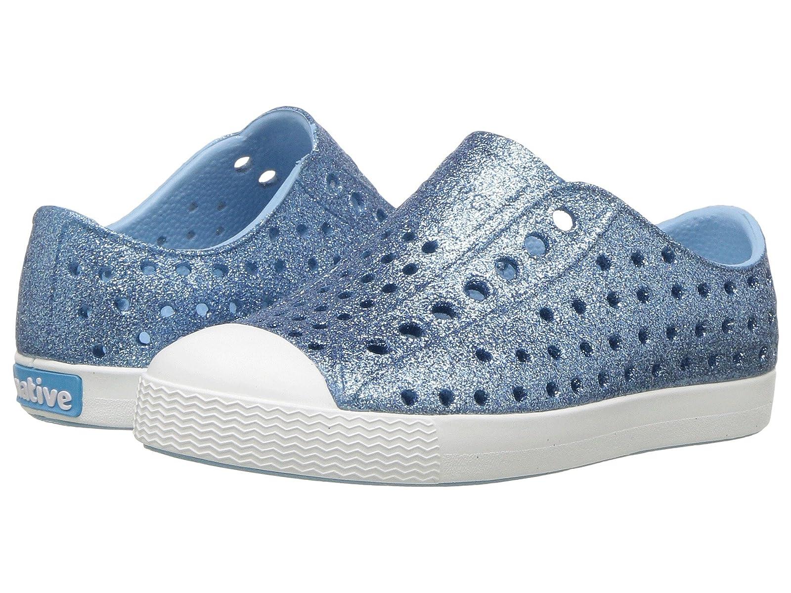 Native Kids Shoes Jefferson Bling Glitter (Toddler/Little Kid)Atmospheric grades have affordable shoes