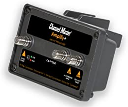 Channel Master CM-7778HD Amplify+ Adjustable Gain Preamplifier - Professional Outdoor TV Antenna Amplifier