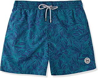 SURF CUZ Men's All Over Printed Quick Dry Beach Volley Swim Trunk