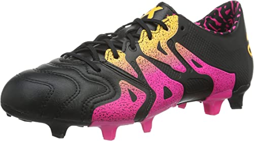 Adidas X 15.1 FG AG Leather, Chaussures de Foot Homme