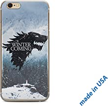 696Designers iPhone 6 Plus/ 6s Plus Case Clear Transparent Silicone Flexible Cover (Game of Thrones)