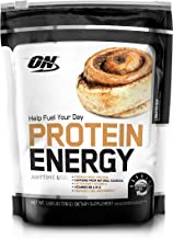 OPTIMUM NUTRITION On Protein Energy Powder, Cinnamon Bun, 1.6 Pound