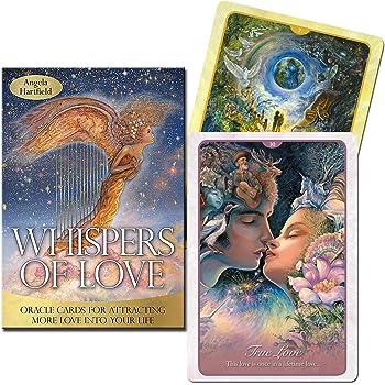 LANG(ラング) 【ウィスパー・オブ・ラブ オラクルカード 50枚 日本語説明書付き】(アンジェラ・ハートフィールド、ジョセフィン・ウォール)Whispers of Love