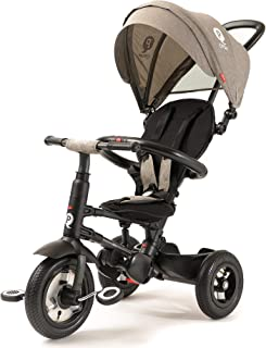 Q Play Rito Plus Ultimate Folding 3-in-1 Trike (Grey)