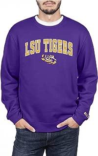 Top of the World NCAA Mens Crewneck Sweatshirt Applique Team Color Arch