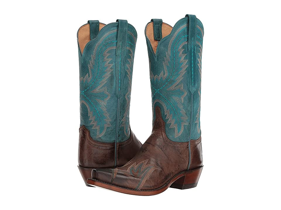 Lucchese Shelley (Chocolate) Cowboy Boots