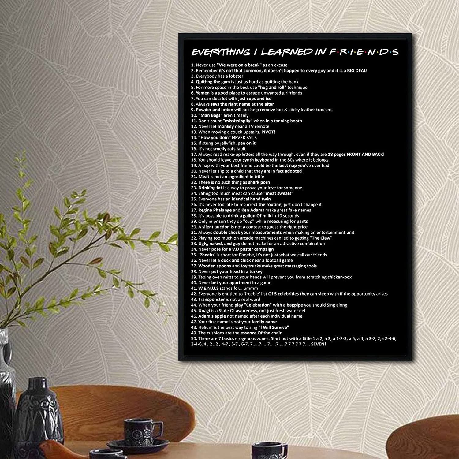 Everything I Limited Special Price Learned Very popular In Vintage Wall Posters Decoration Sho TV