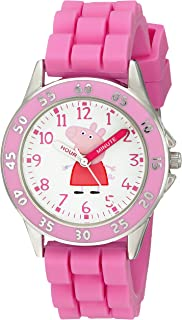 Kids' PPG9000 Analog Display Japanese Quartz Pink Watch