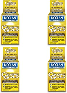 (4 PACK) - Bioglan Calamari Gold 1000Mg Capsules | 30s | 4 PACK - SUPER SAVER - SAVE MONEY