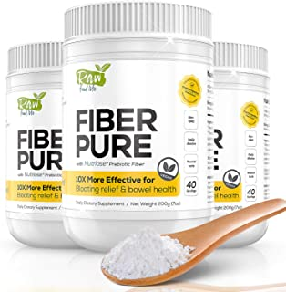 Fiber Pure Premium Prebiotic from France, Very Effective for Bloating Relief & Digestive Tolerance clinical...