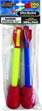 Stomp Rocket Ultra Rocket Refill Pack, 2 Rockets - Outdoor Rocket Toy Gift for Boys and Girls- Ages 6 Years Up