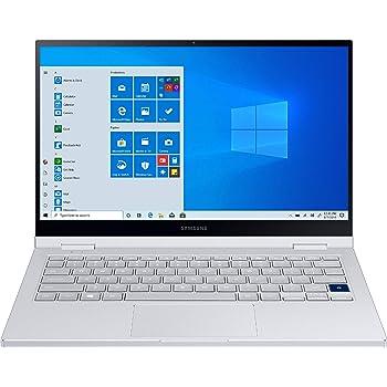 "Samsung - Galaxy Book Flex Alpha 2-in-1 13.3"" QLED Touch-Screen Laptop - Intel Core i5 - 8GB Memory - 256GB SSD - Royal Silver - NP730QCJ-K01US"