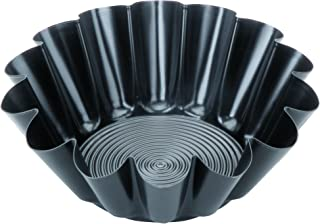 IBILI 824121 Moule à Brioche Moka, Aluminium, Noir, 24 x 23 x 11,5 cm