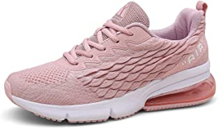 Mishansha Mens Womens Sports Running Shoes Air Cushion Sneaker Tennis Gym Walking