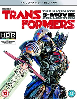 Transformers: Kolekcja: Transformers / Transformers: Wiek zagĹady / Transformers 3 / Transformers: Zemsta upadĹych / Transformers: Ostatni Rycerz EN BOX 5 4K 6 English audio