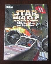 1996 Fleer Star Wars Panini Collectible Story & Sticker Album Sealed