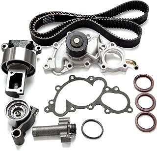 SCITOO Timing Belt Water Pump Kit Fits 3.0L Toyota 4Runner Pickup T100 2958CC V6 SOHC 12V 3VZE 1993-1995