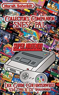 Collector's Companion - SNES PAL: 2015 - 1st Edition (534 Titel & 121 Variationen)
