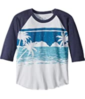 Chaser Kids Vintage Jersey Ocean View Tee (Little Kids/Big Kids)