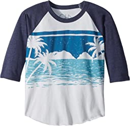 Vintage Jersey Ocean View Tee (Little Kids/Big Kids)