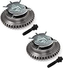 CGF460K Brand New Intake VVT Actuator Cam Phaser Sprockets & Mounting Bolt Set (Pair) - Both Left and Right for 2004-10 Ford 4.6L 281 5.4L 330 3-Valve Engine F-150 Expedition Mercury Lincoln