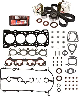 Evergreen HSTBK6007 Head Gasket Set Timing Belt Kit 93-97 Mazda MX6 626 Ford Probe 2.0 DOHC FS