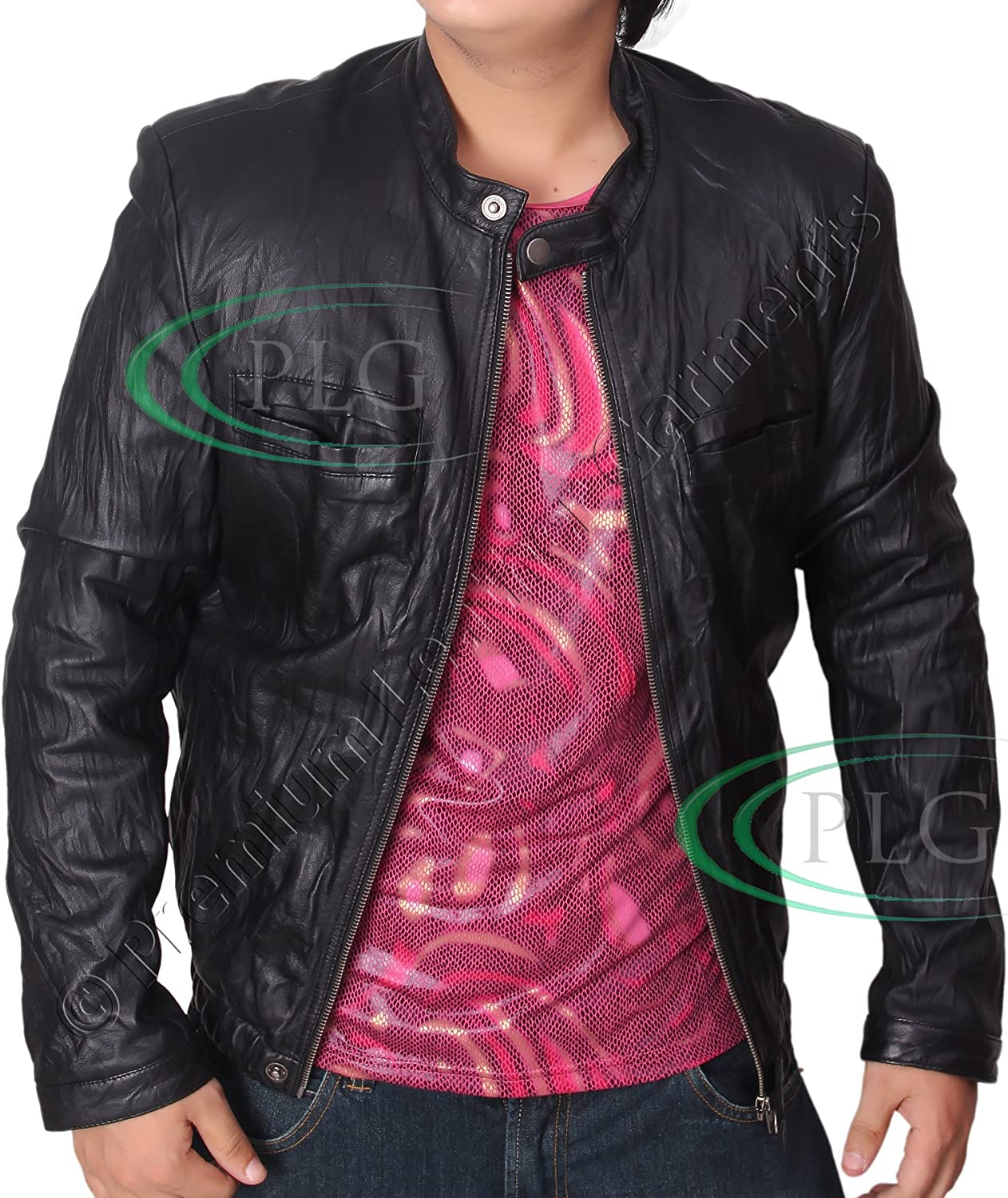 Zac Efron Summer Leather Jacket - 17 Again OBLOW Leather Jacket