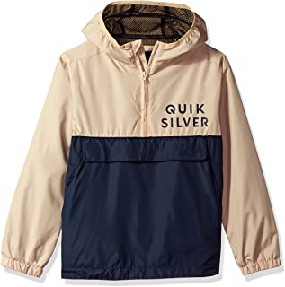 Quiksilver Boys' Boy's Feed Back Is Back Water-Repellent Pullover Anorak
